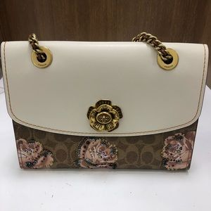 Coach Tea Rose Handbag